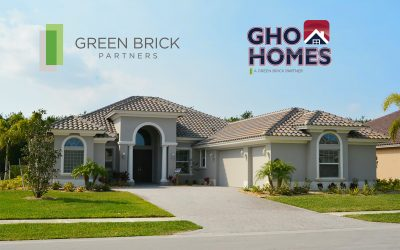Green Brick Partners, Inc. Expands Into Florida Through Acquisition of GHO Homes