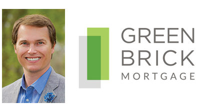 Green Brick Mortgage Hires New Managing Director, John Olson (NMLS: 546502)