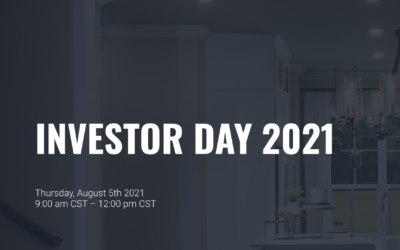 Reminder: Green Brick Partners To Host Virtual Investor Day