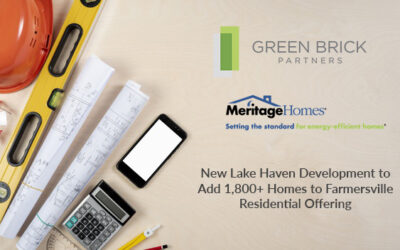 New Lake Haven Development to Add 1,800+ Homes to Farmersville